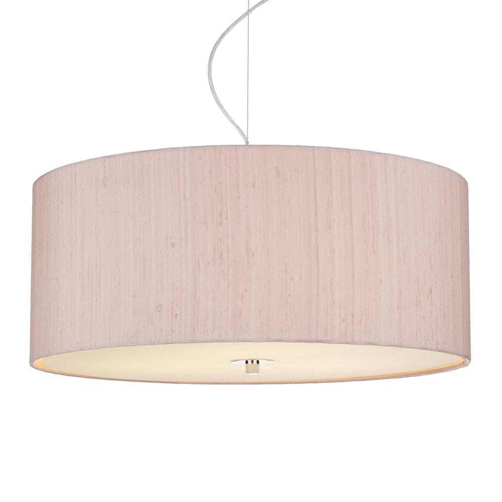 home modern lamp shades dupion silk drum shade cotton candy. Black Bedroom Furniture Sets. Home Design Ideas