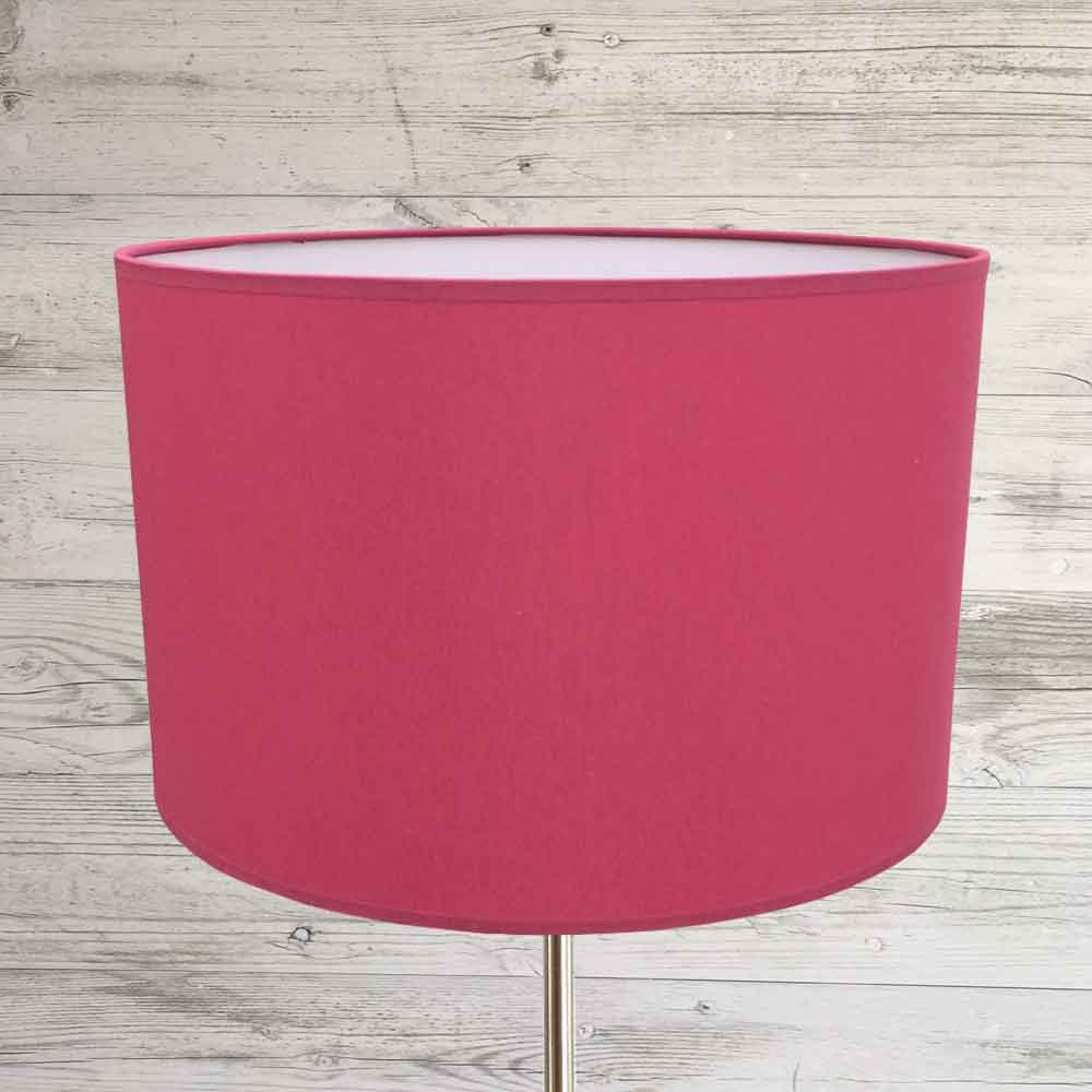Drum Lampshade Raspberry