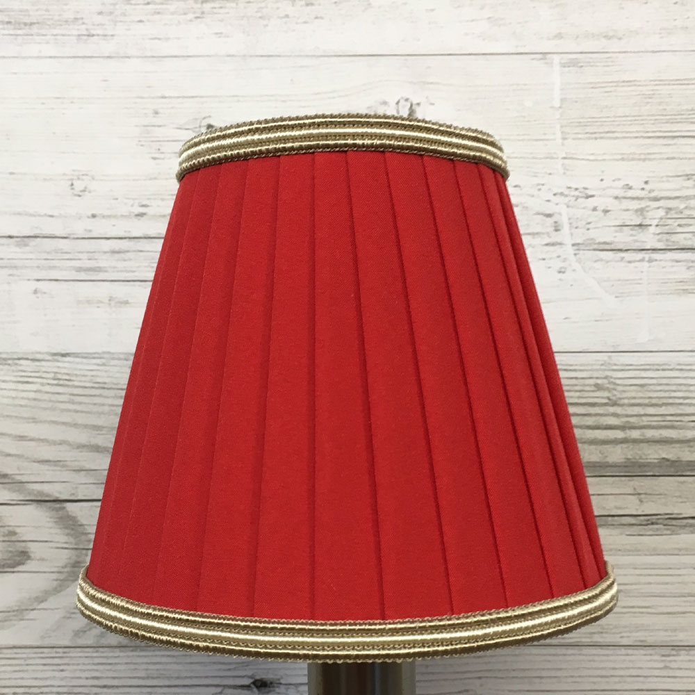 Ribbon Clip on Shade Fire with Trim