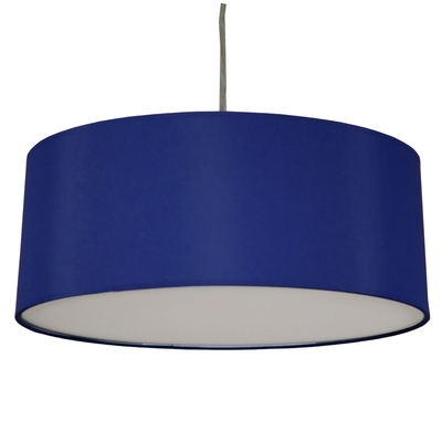 Drum Ceiling Shade Royal Blue