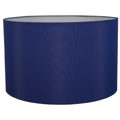 Drum Table Lampshade Royal Blue