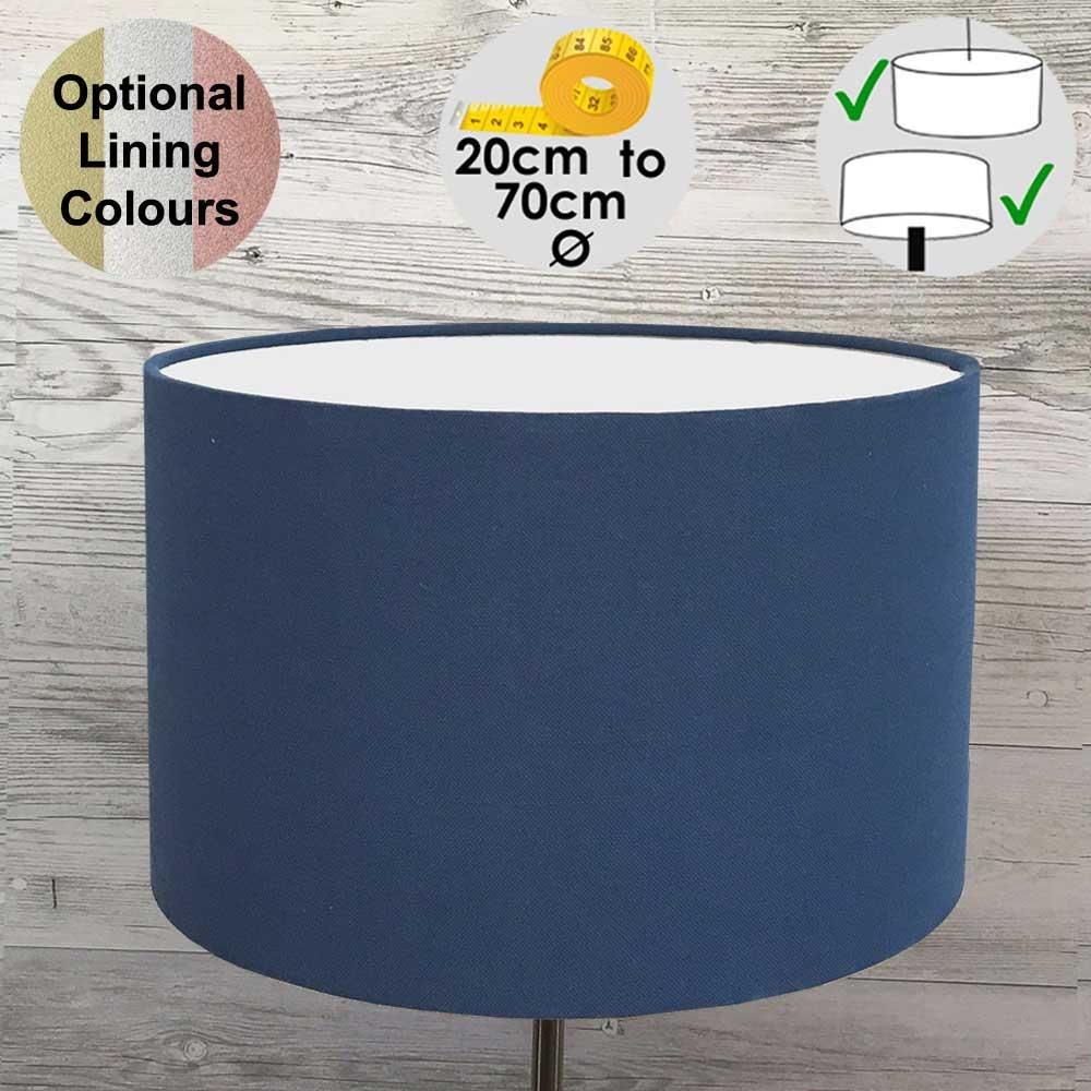 Aura Royal Blue Drum Shade