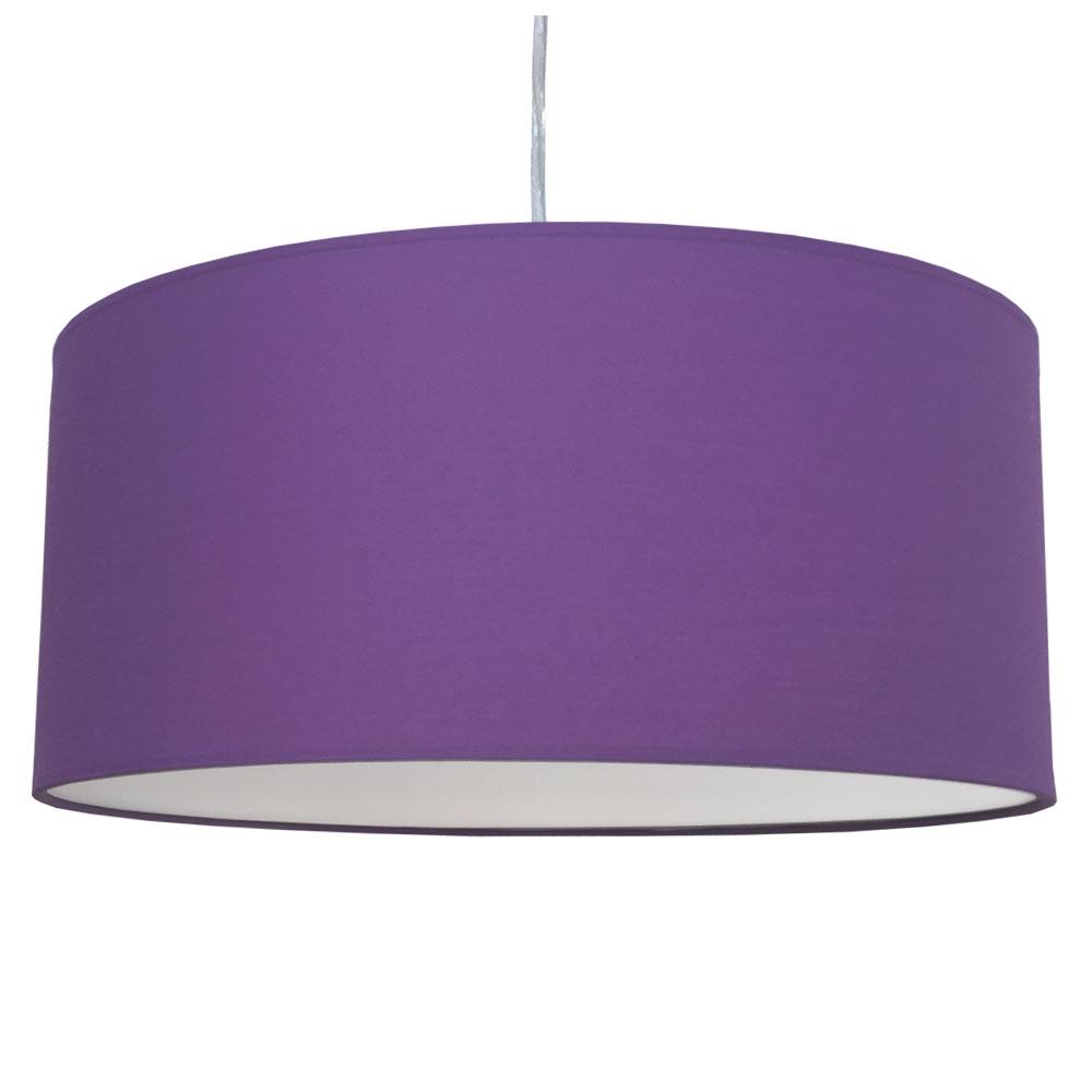 drum pendant shade royal purple imperial lighting