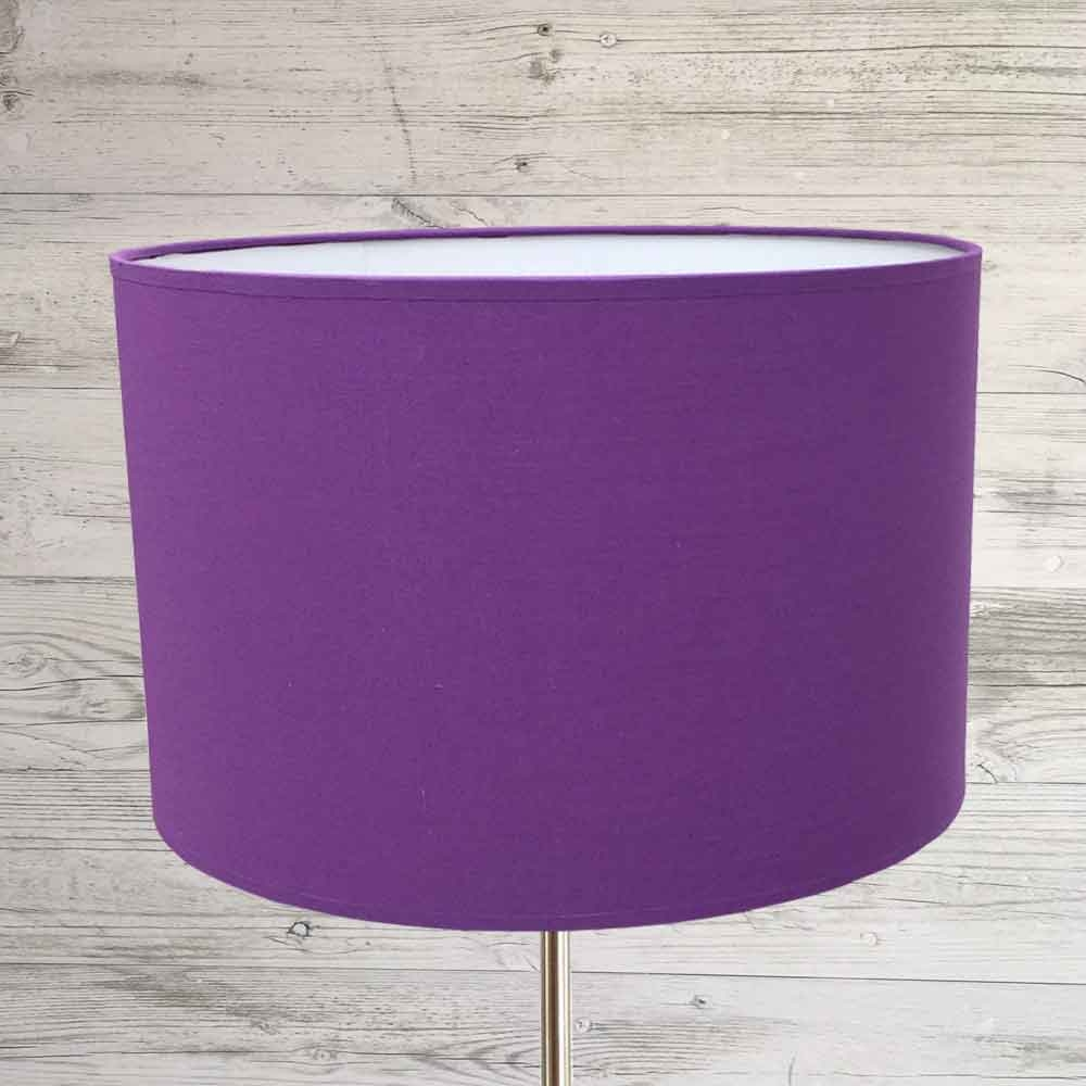 Drum Shade Royal Purple