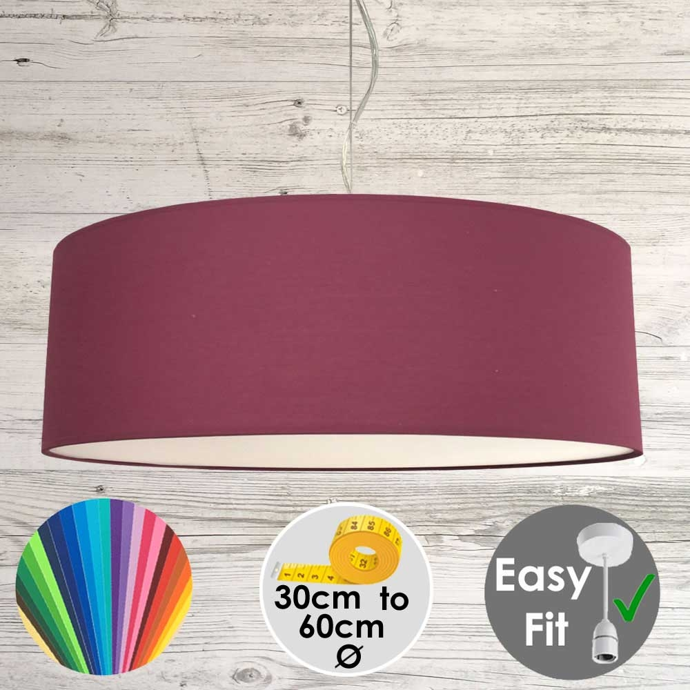 Ruby Drum Light Shade