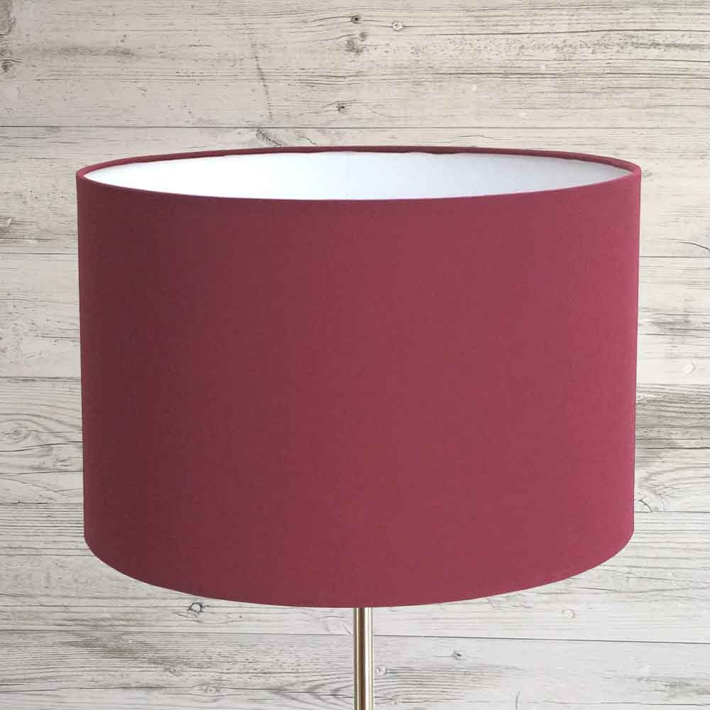 Drum Lampshade Ruby