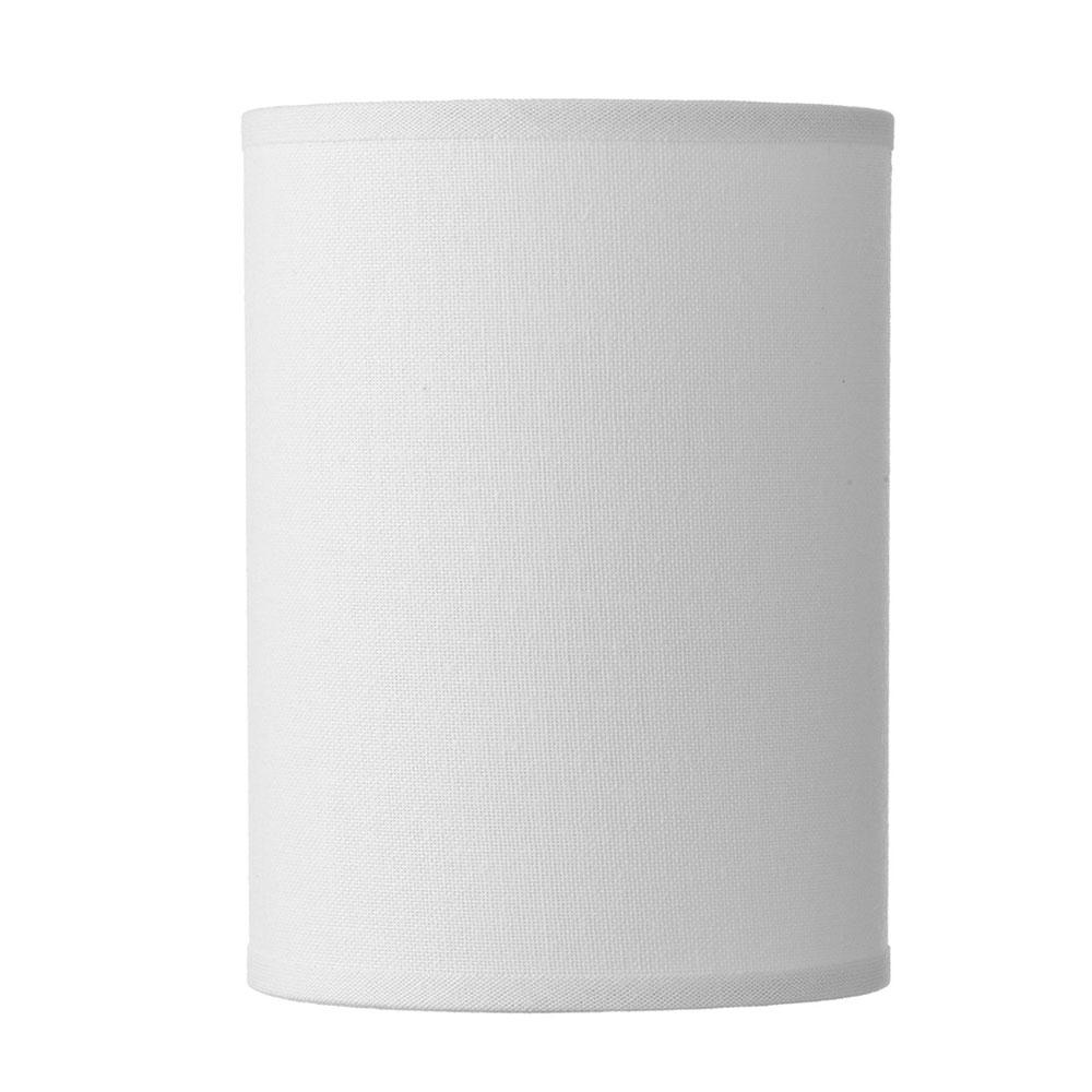 Saddler White Cylinder Shade