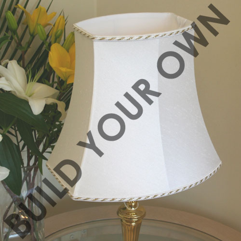 Square End Oval Lampshade