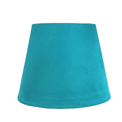 Silk Effect Candle Shade Teal Imperial Lighting