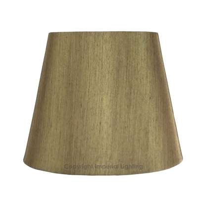 Silk-Effect Candle shade Gold