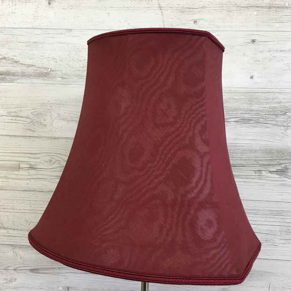 Square End Oval Burgundy