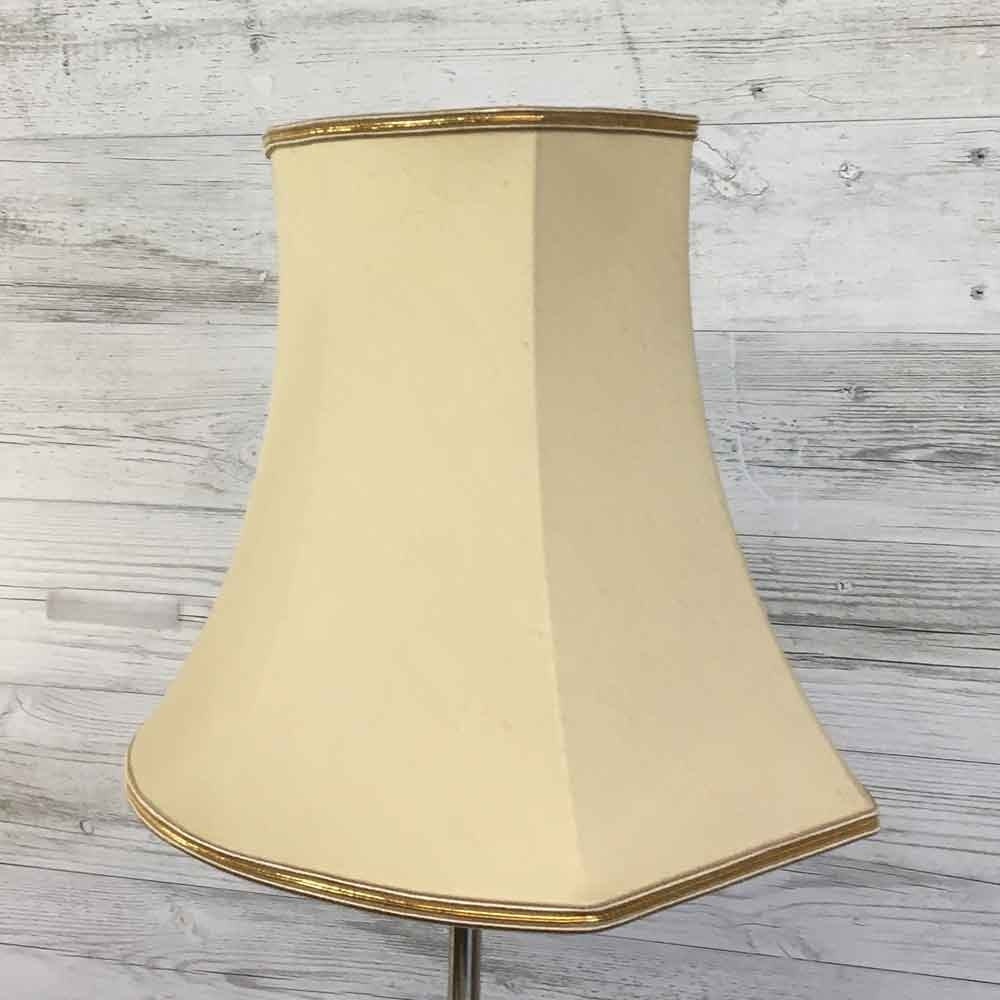 Square End Oval Cream Lampshade
