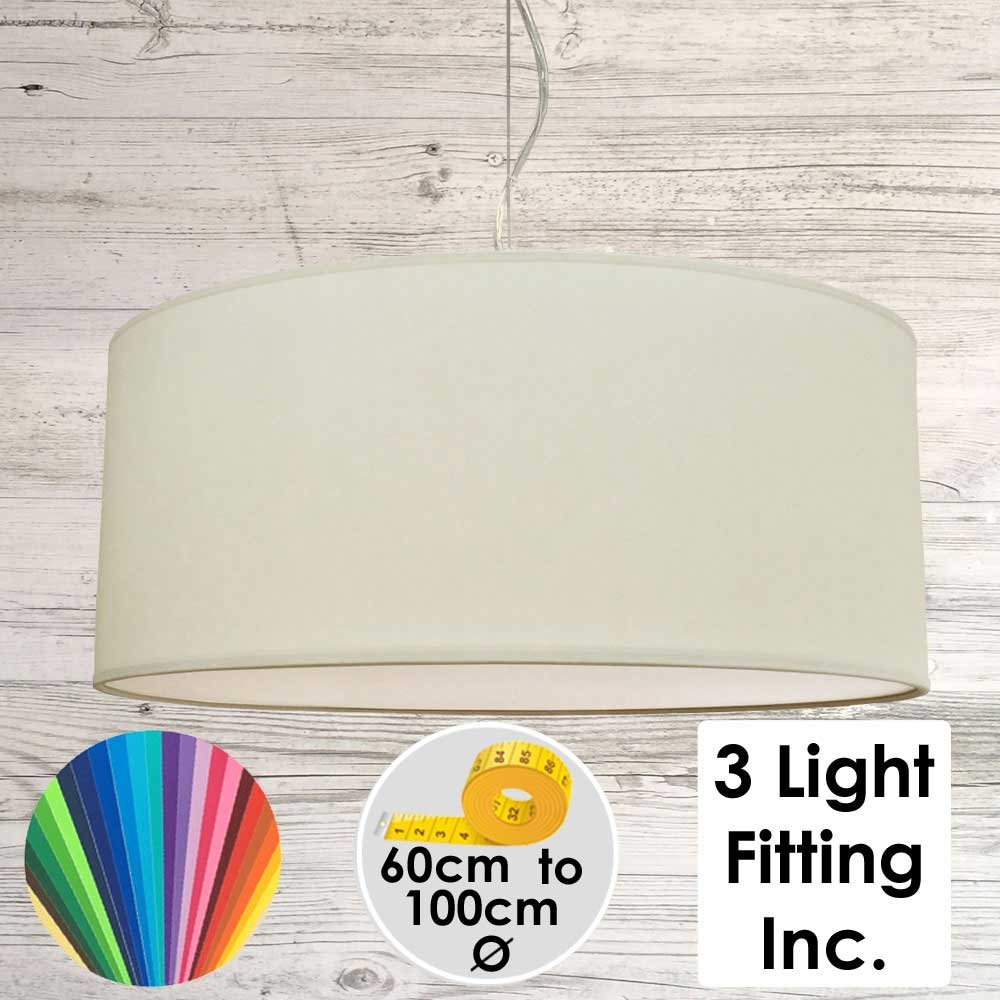 Sage Drum Ceiling Light