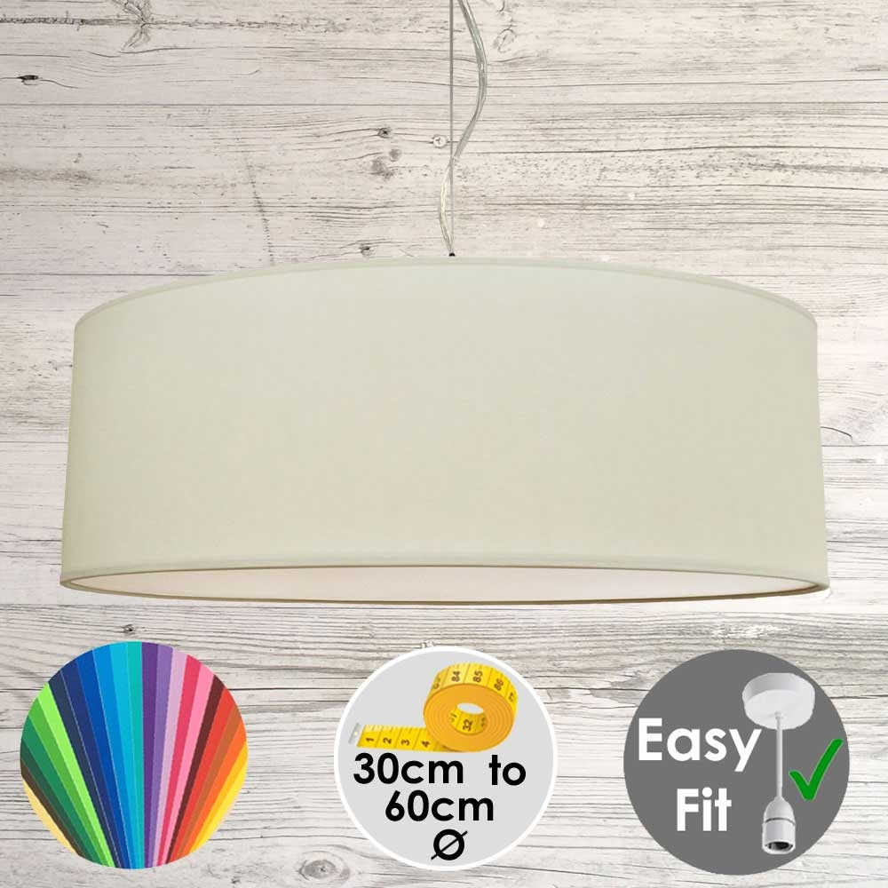 Sage Drum Light Shade