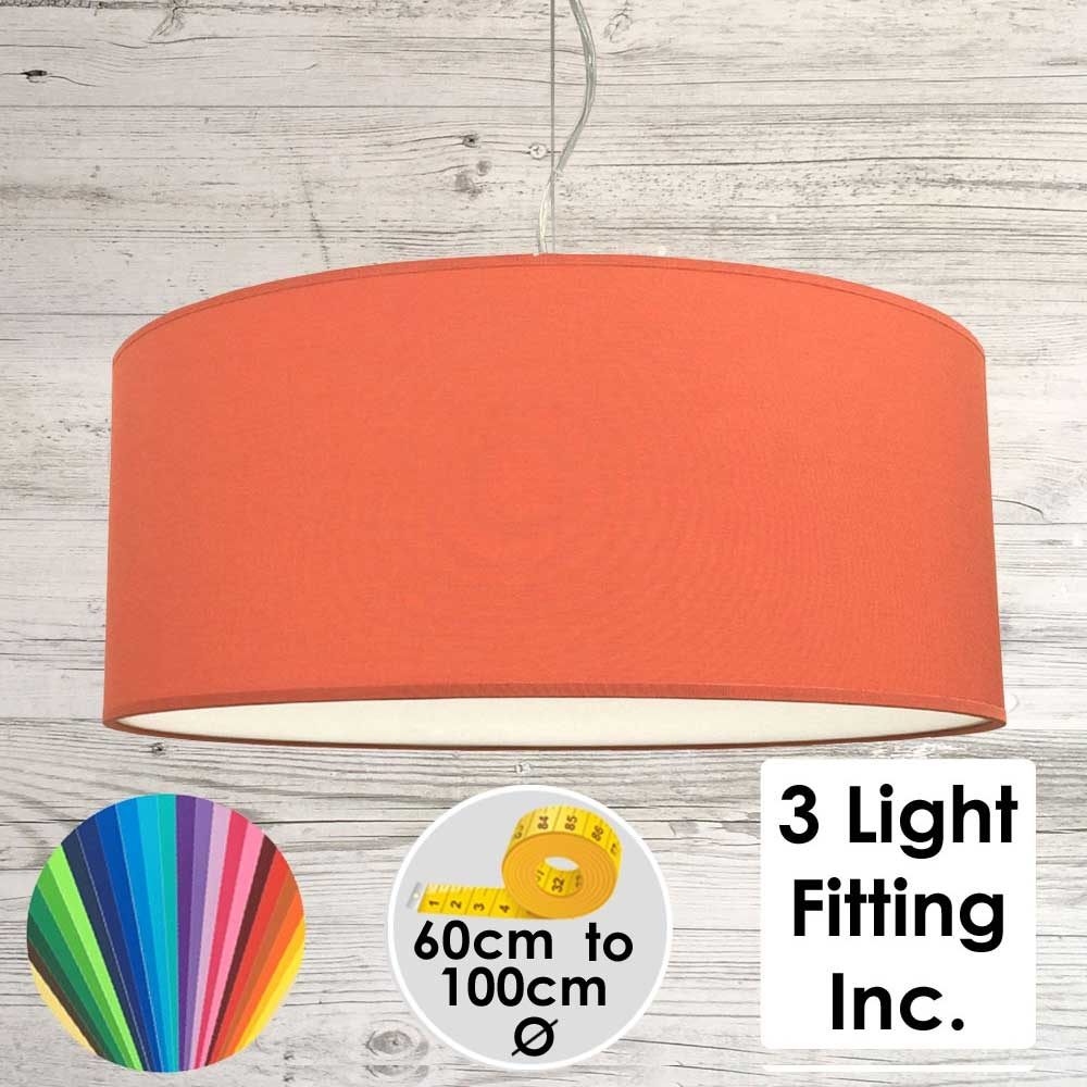 Satsuma Drum Ceiling Light