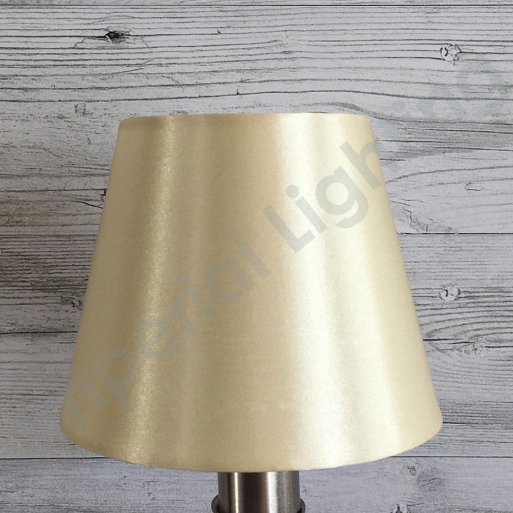 Silk-Effect Candle shade Cream