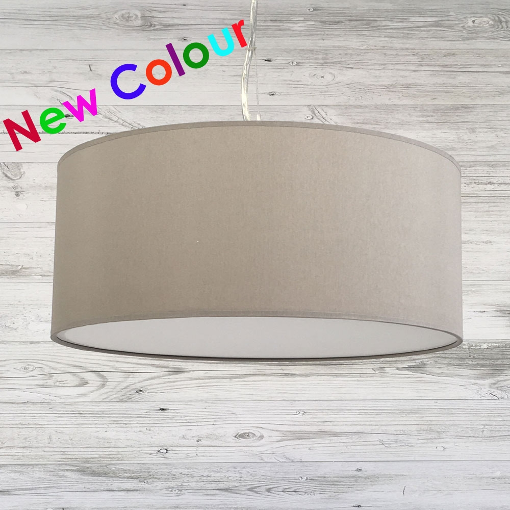 Drum Ceiling Shade Stone
