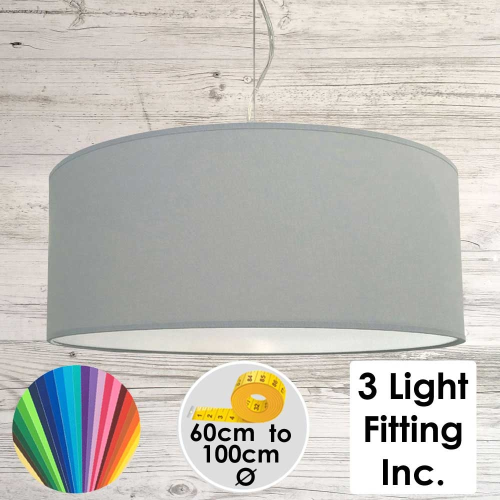 Storm Drum Ceiling Light