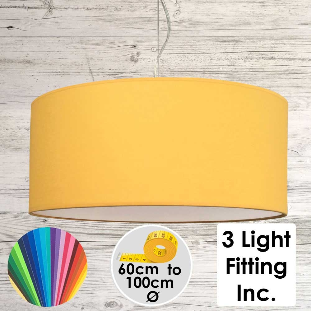 Sunflower Drum Ceiling Light