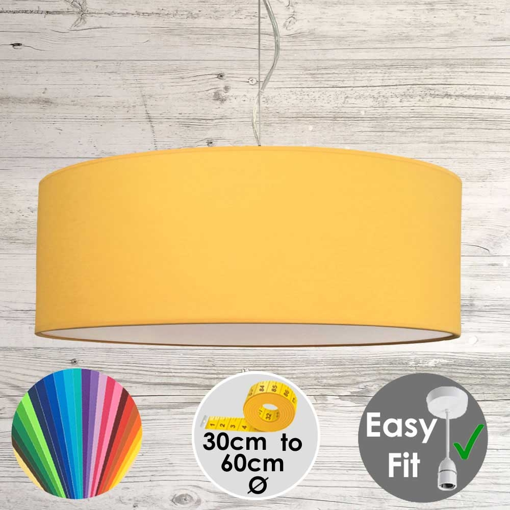 Sunflower Drum Light Shade