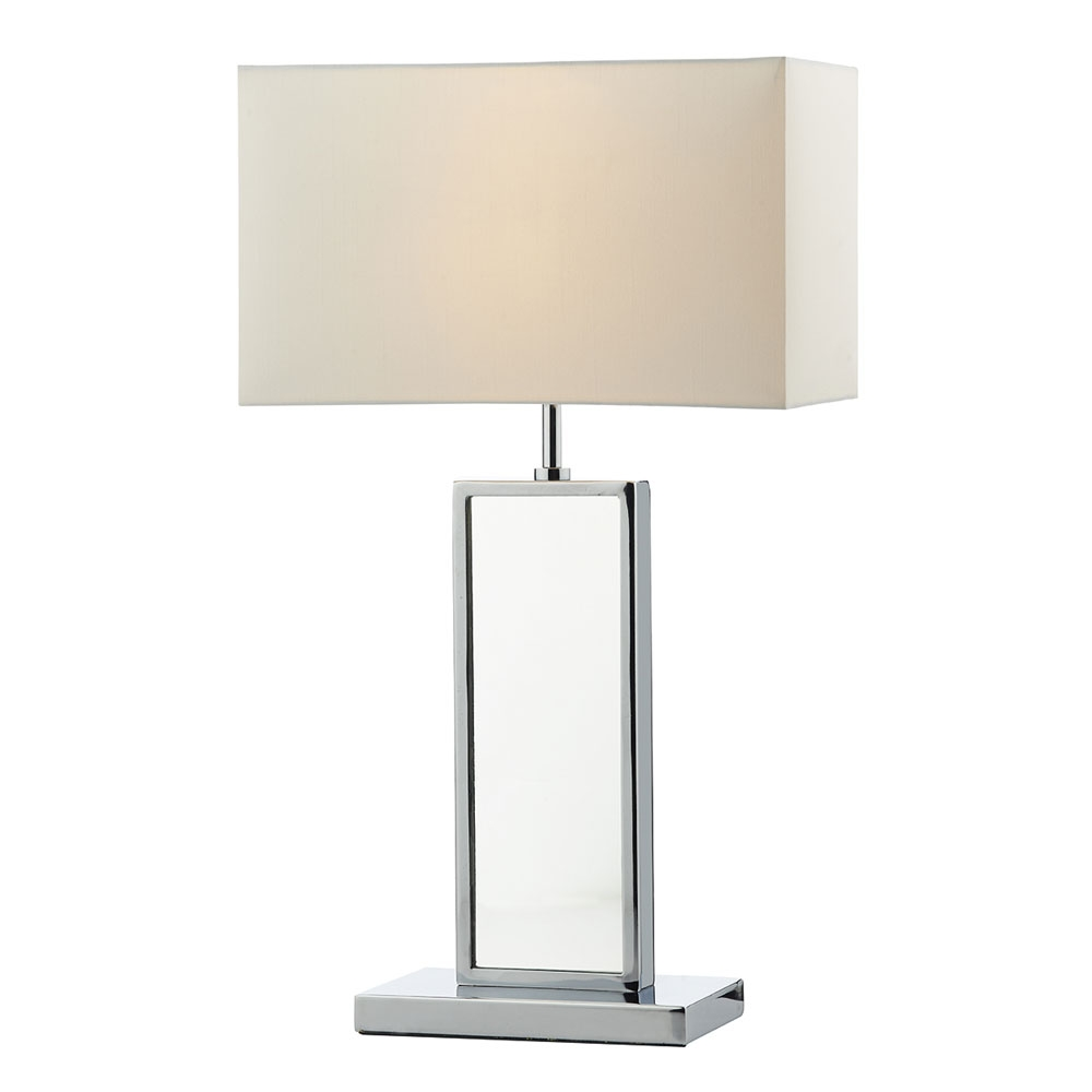 Tablet Table Lamp Polished Chrome Imperial Lighting