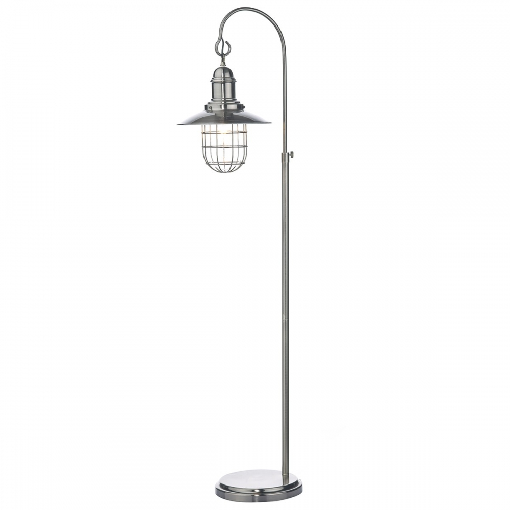 Terrace Chrome Floor Lampset