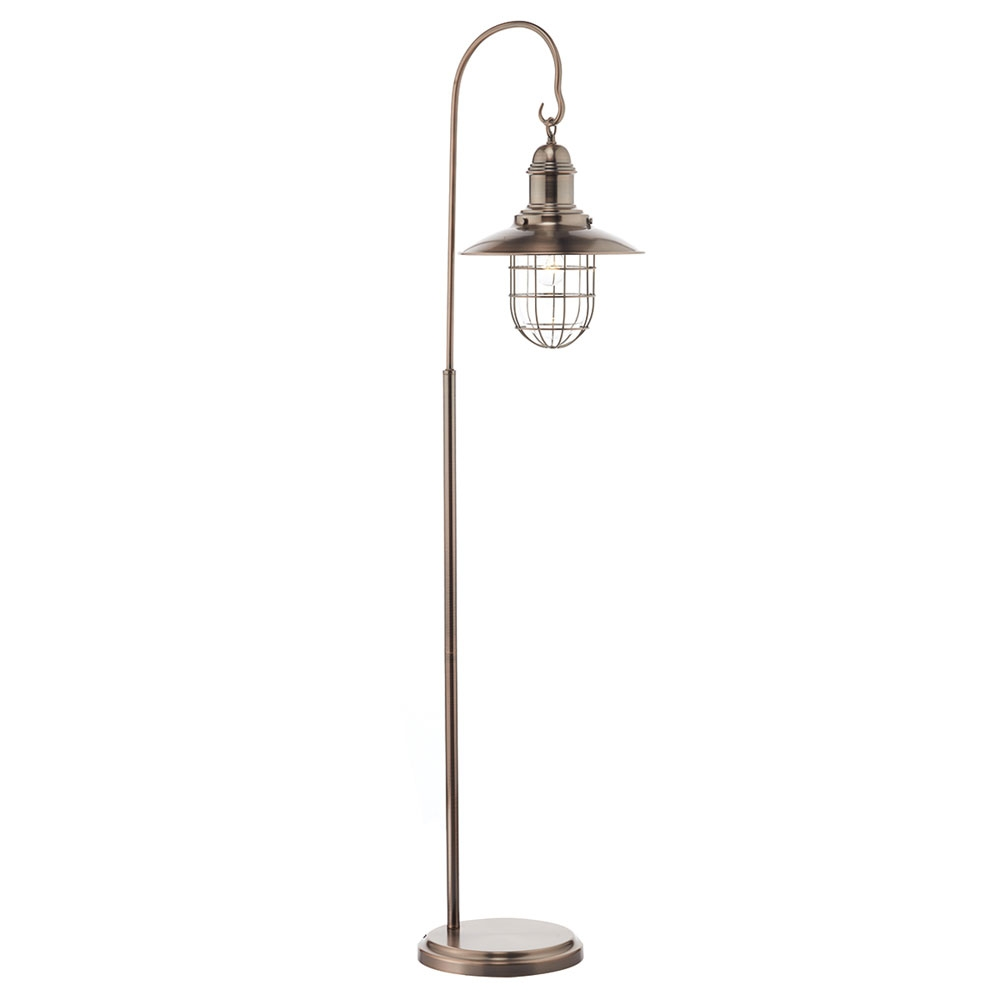 Terrace Copper Floor Lampset