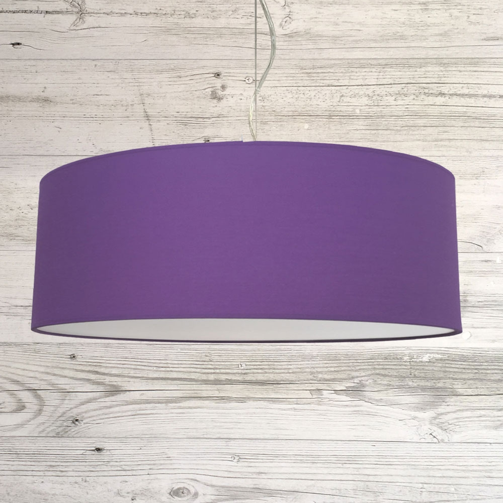Thin Drum Pendant Royal Purple
