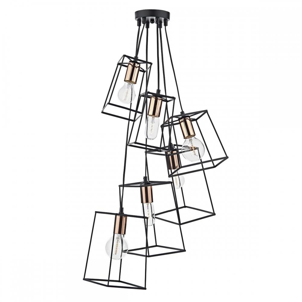 6 light cluster pendant