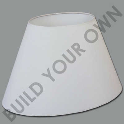 Tapered Oval Lamp Shade