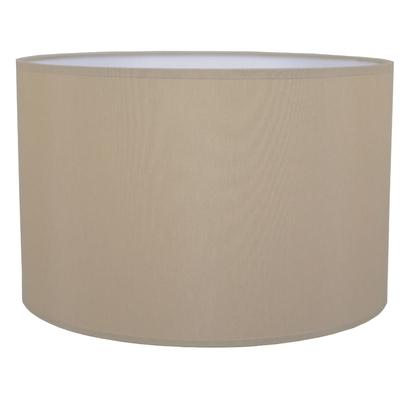 Drum Table Lampshade Taupe