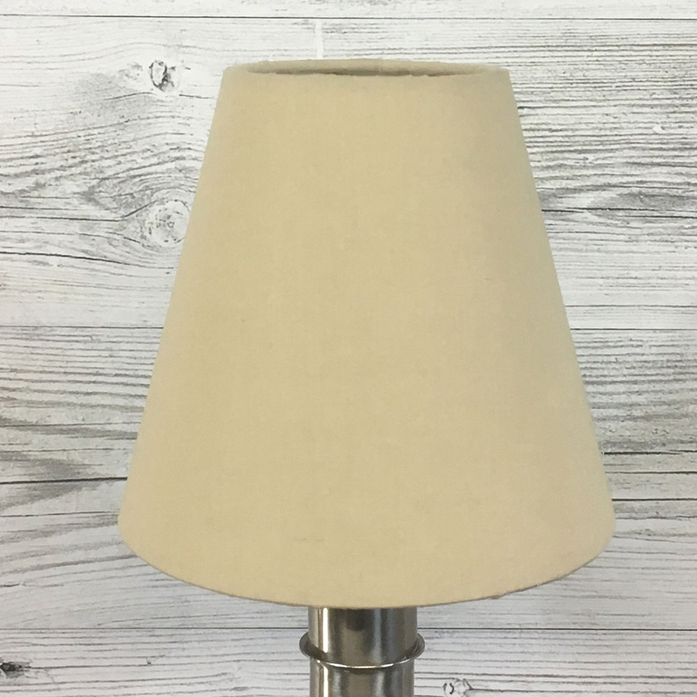 Wilma Candle Shade Taupe