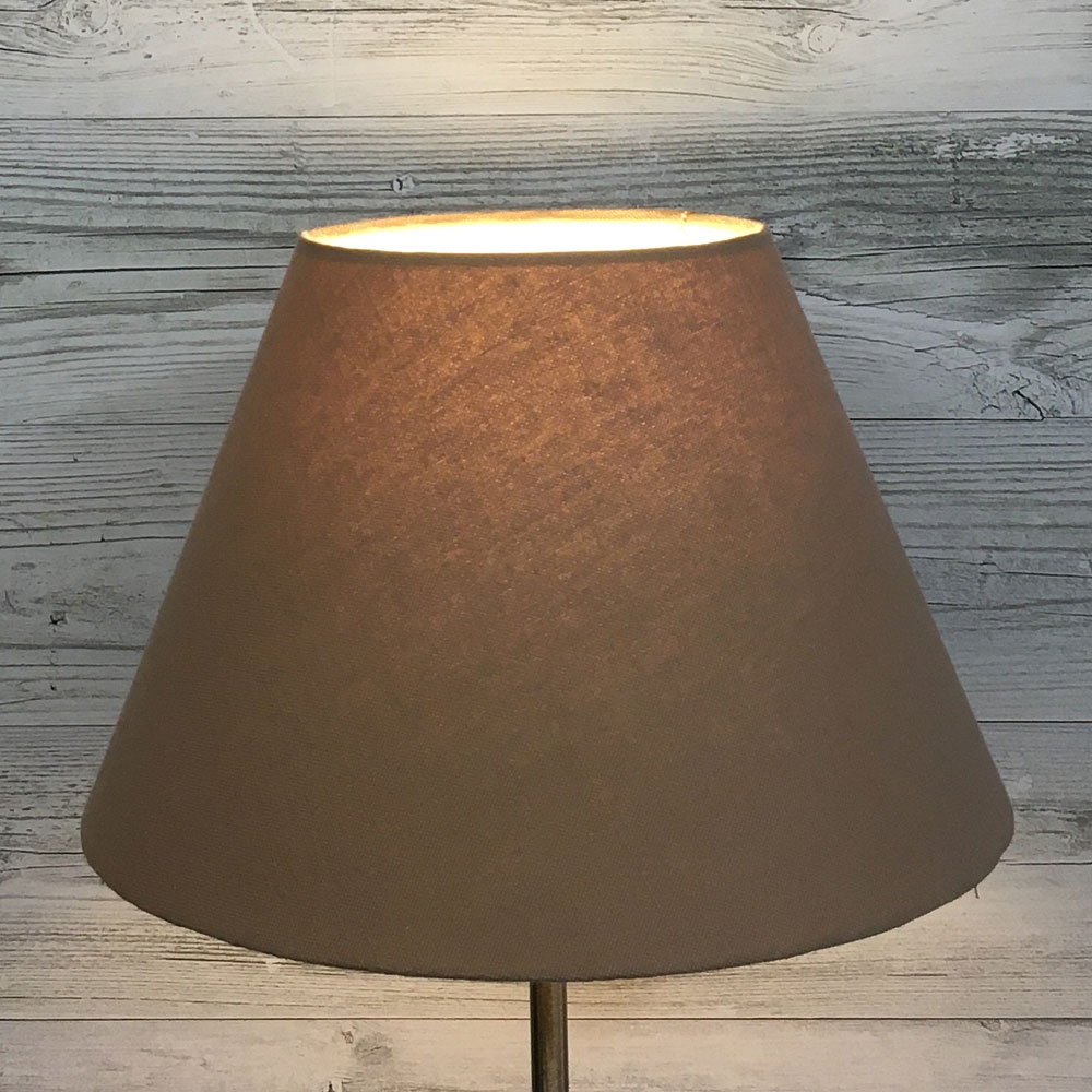 Taupe Empire Pendant Lampshade