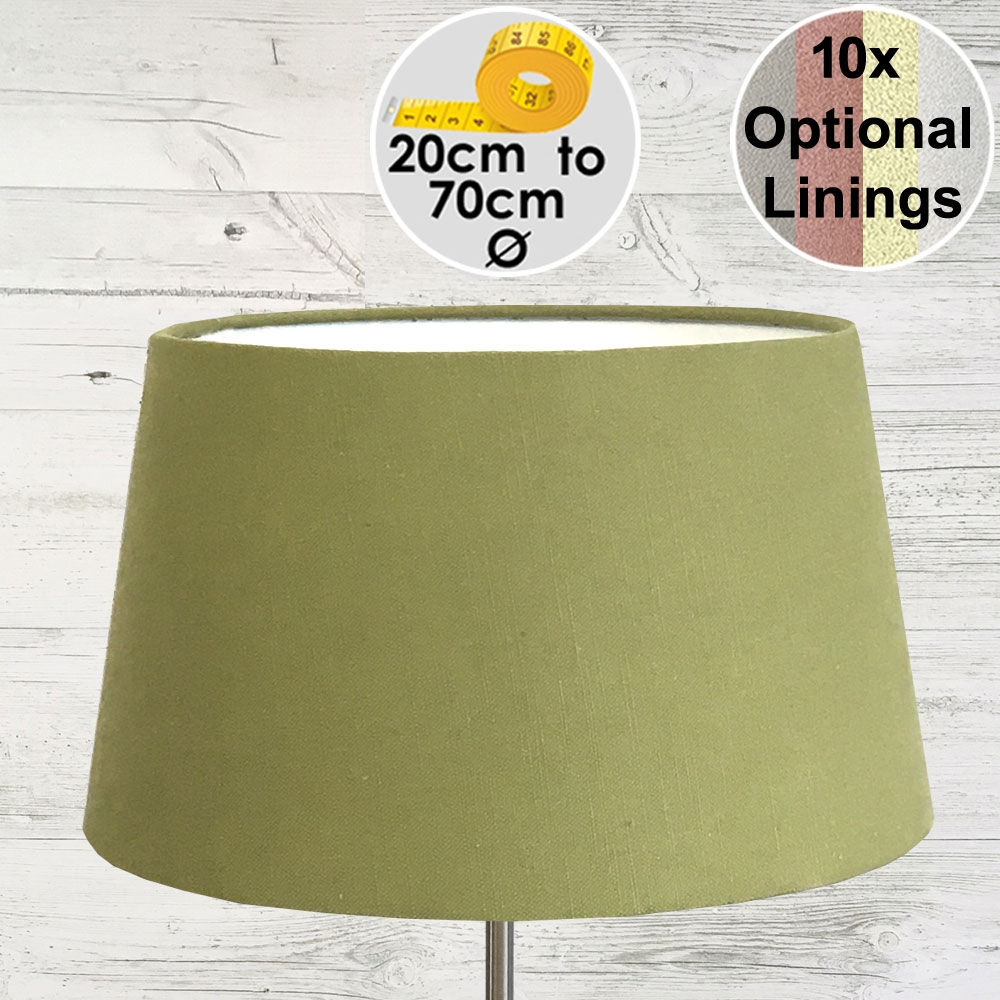 Aria Thyme Linen Lampshade