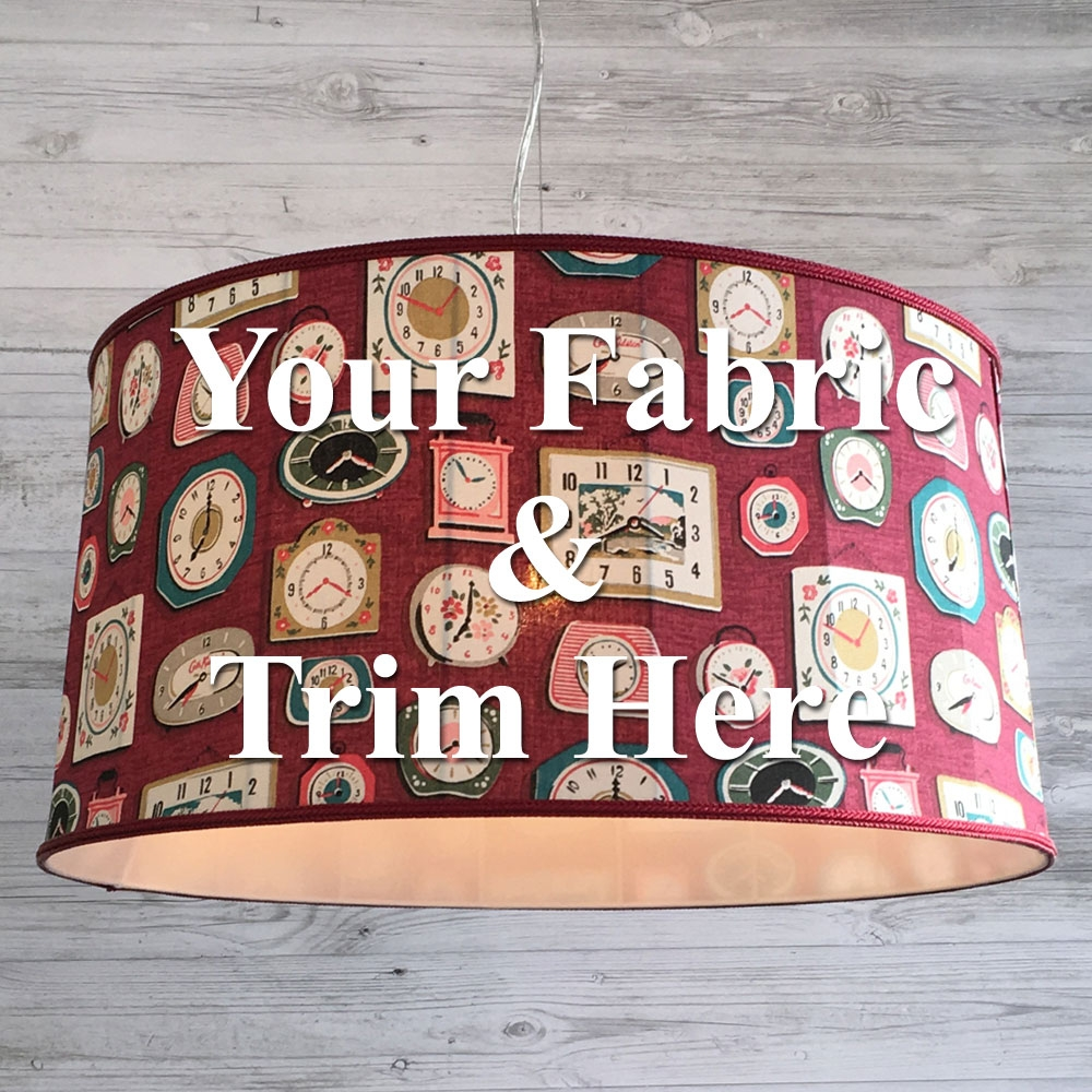 Traditional Drum - Own Fabric