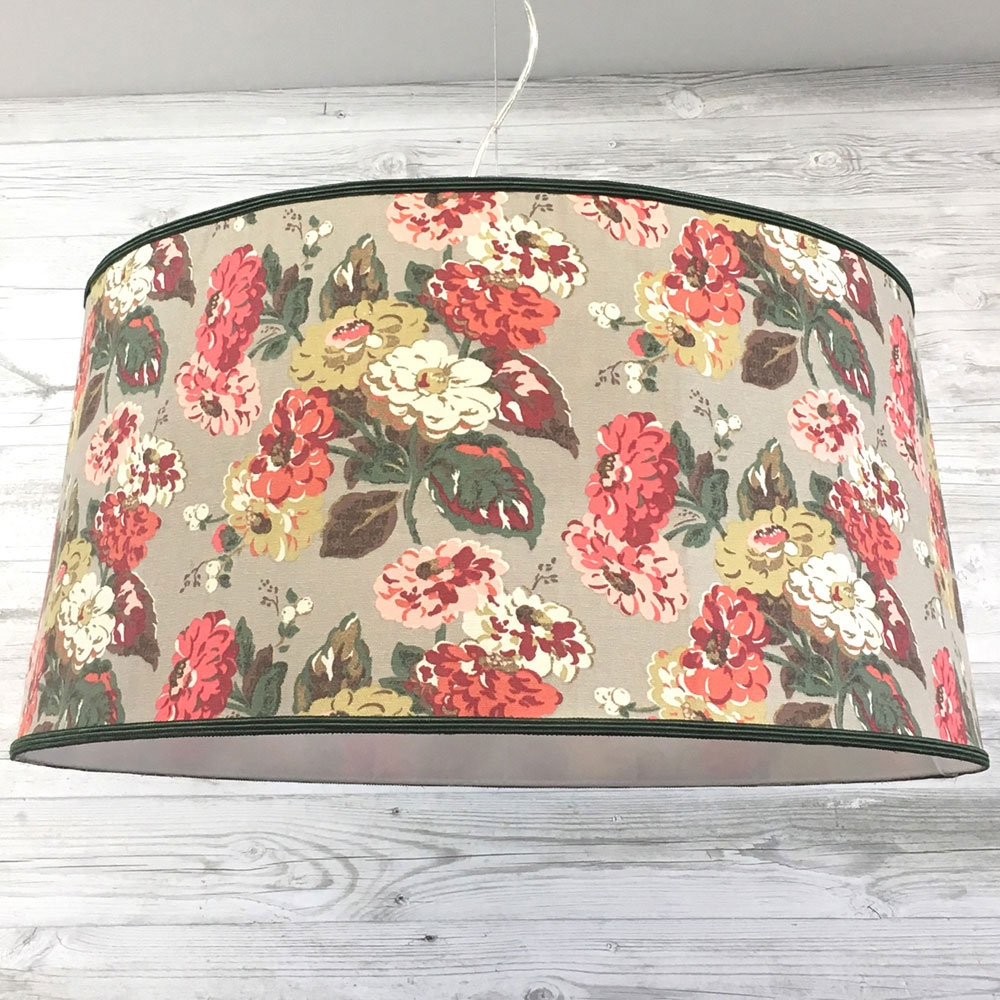 Traditional Drum - Floral
