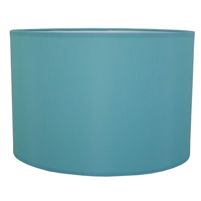home modern lamp shades drum table lampshade in turquoise cotton. Black Bedroom Furniture Sets. Home Design Ideas