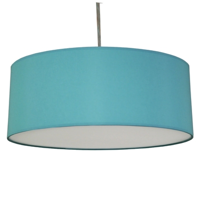 home modern lamp shades drum pendant shade turquoise. Black Bedroom Furniture Sets. Home Design Ideas