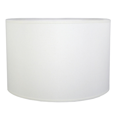 Drum Table Lampshade White