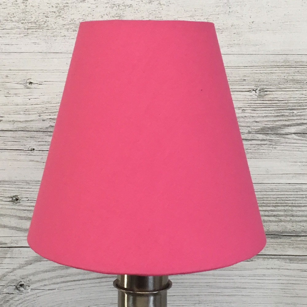 Wilma Candle Shade Hot Pink