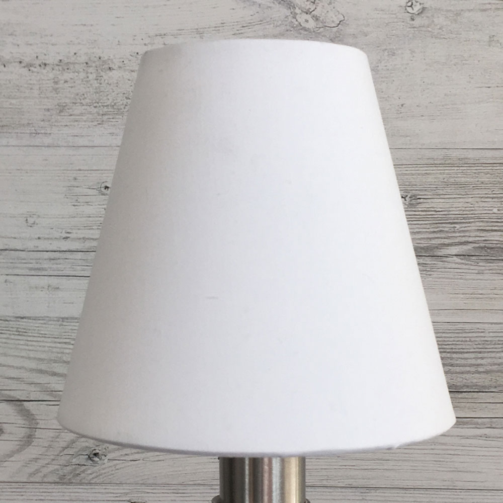 Wilma Candle Shade White