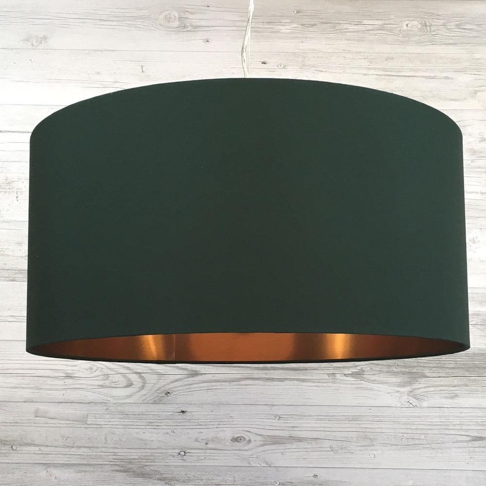 Eclipse Pendant Green/Copper