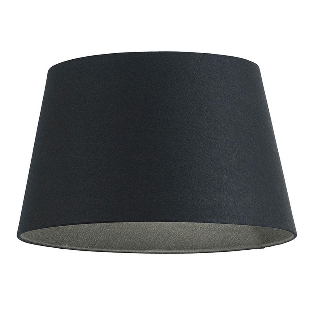 home modern lamp shades linen tapered drum black. Black Bedroom Furniture Sets. Home Design Ideas