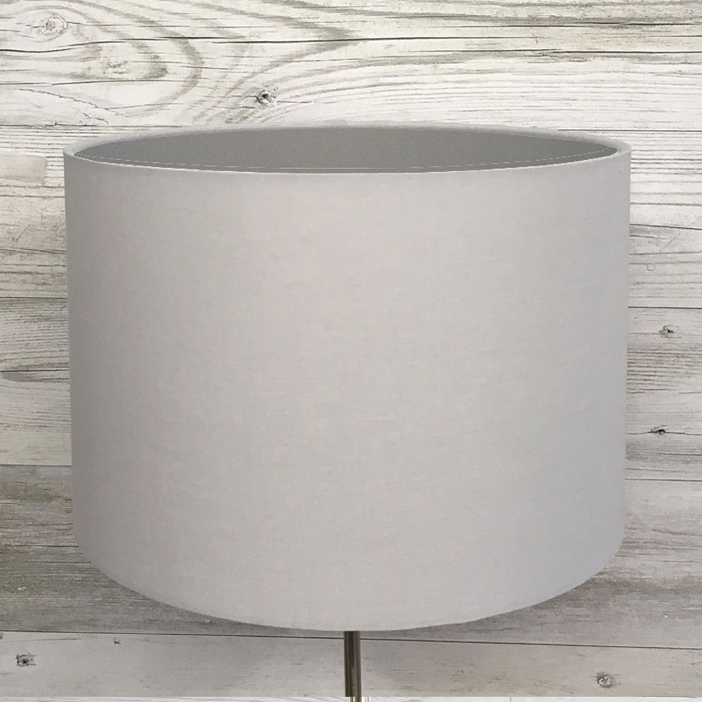 Eclipse Lampshade Grey/Silver