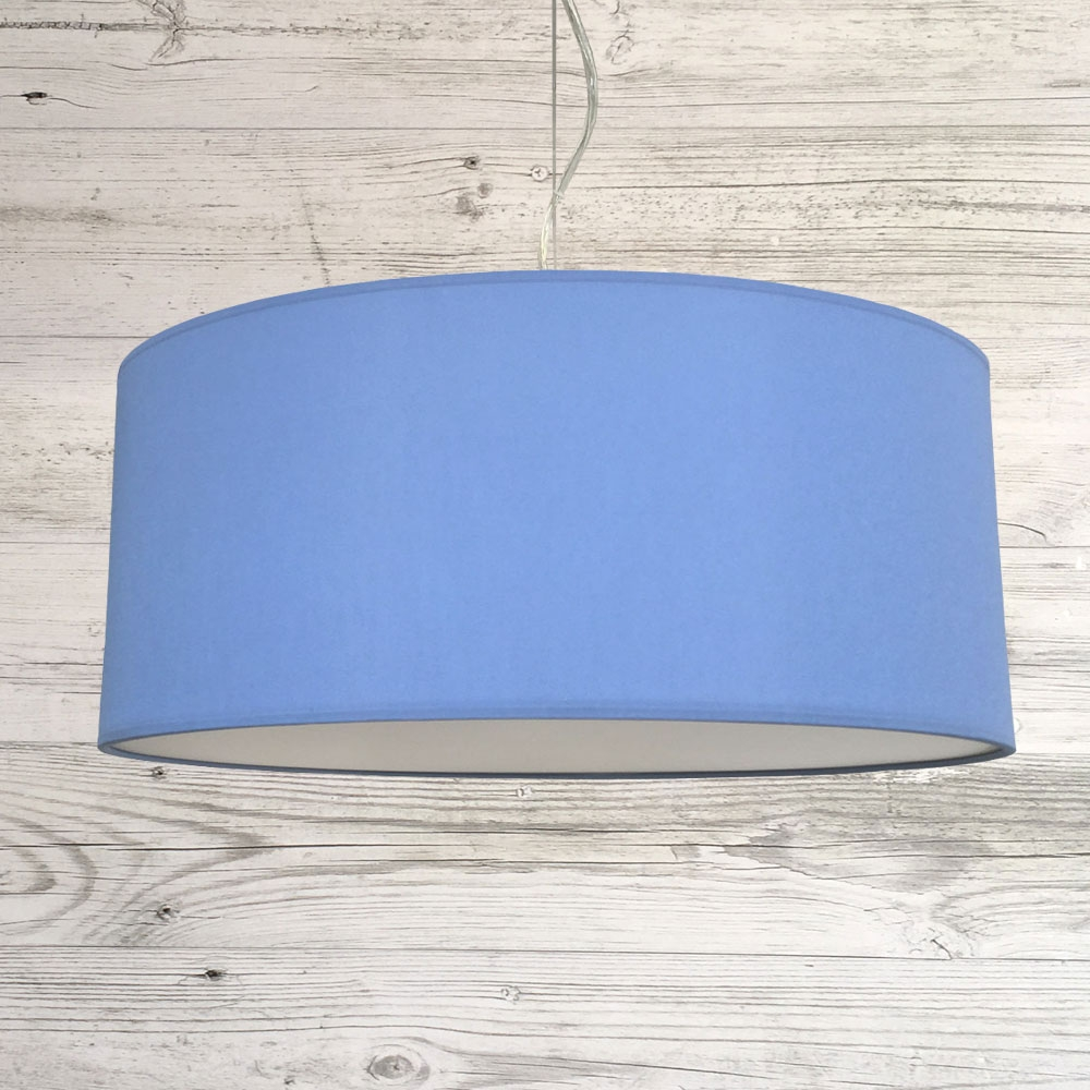 Drum Ceiling Shade Mid Blue
