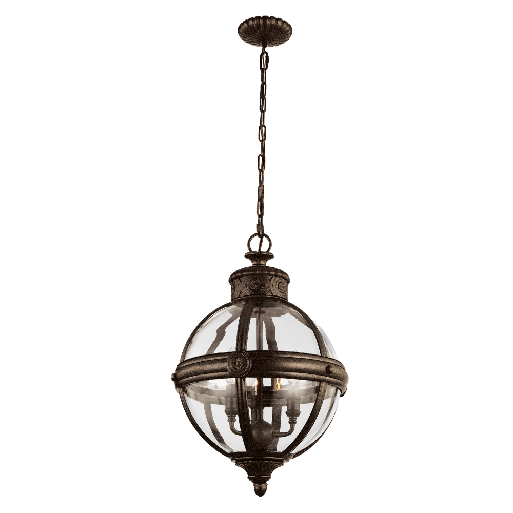 Adams 3 light Bronze Pendant