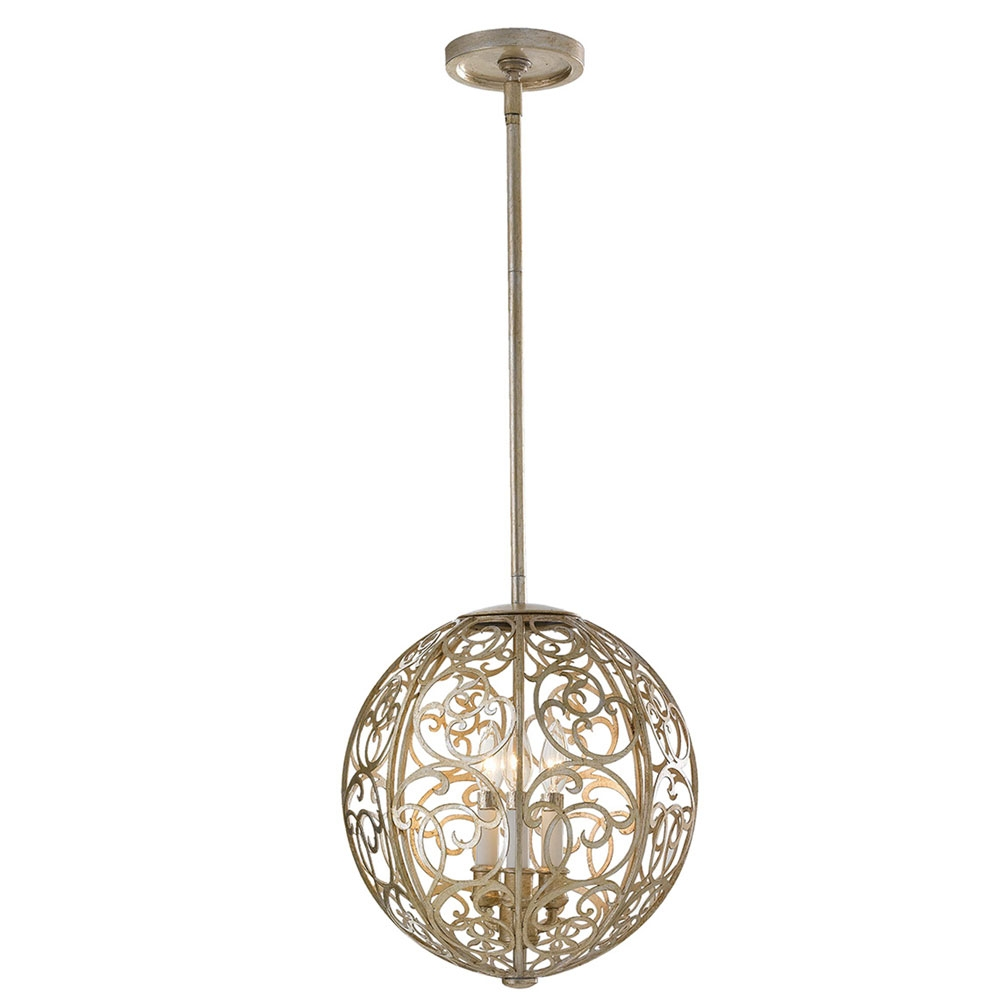 Arabesque 3 light Pendant