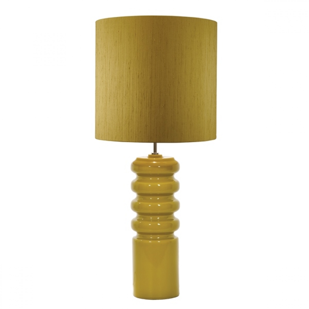 Contour Table lamp and lime shade