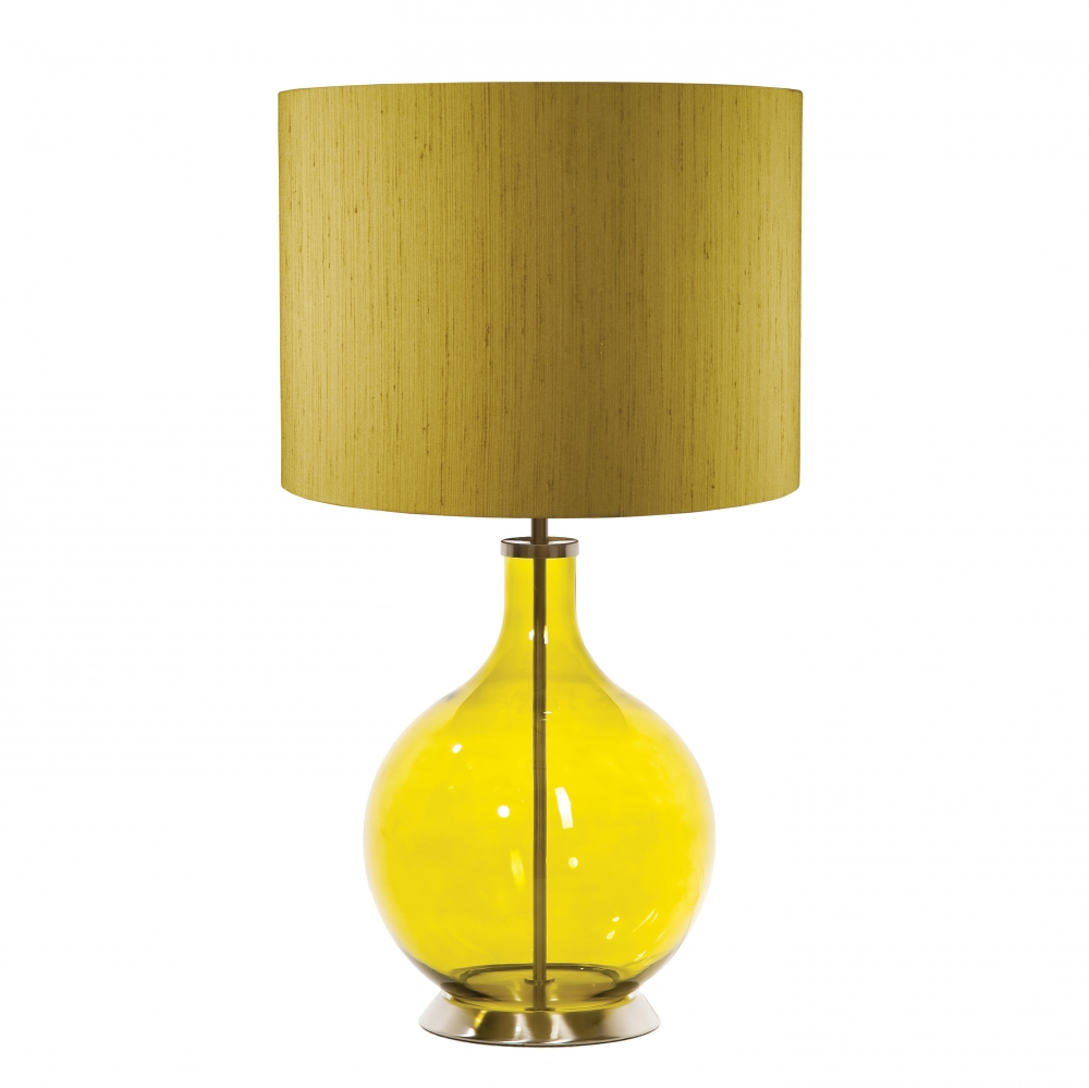 Orb lime table lamp