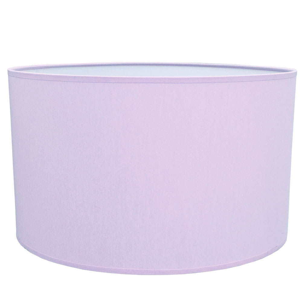 Drum Table Lampshade Lilac